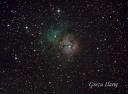 Trifid Nebula, obiectul Messier 20 sau NGC 6514