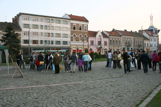 100 hours for astronomy, 2009, Cluj